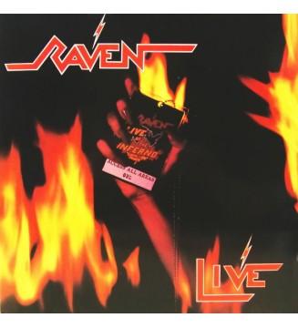 Raven (6) - Live At The Inferno (2xLP, Album, Gat) mesvinyles.fr