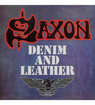 Saxon - Denim And Leather (LP, Album) mesvinyles.fr