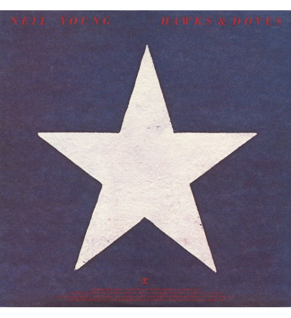 Neil Young - Hawks & Doves - Vinyle Occasion
