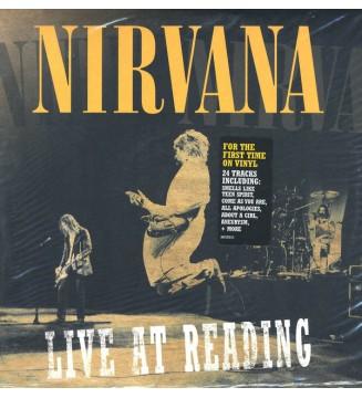 Nirvana - Live At Reading (2xLP, Album, Gat) mesvinyles.fr