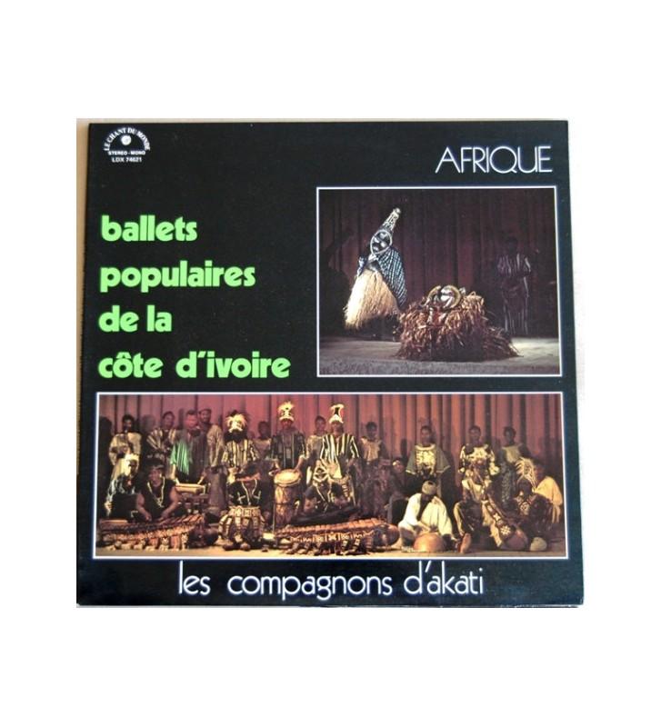 Les Compagnons D'Akati - Ballets Populaires De La Côte D'Ivoire (LP) mesvinyles.fr