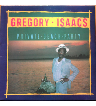 Gregory Isaacs - Private Beach Party (LP, Album) mesvinyles.fr