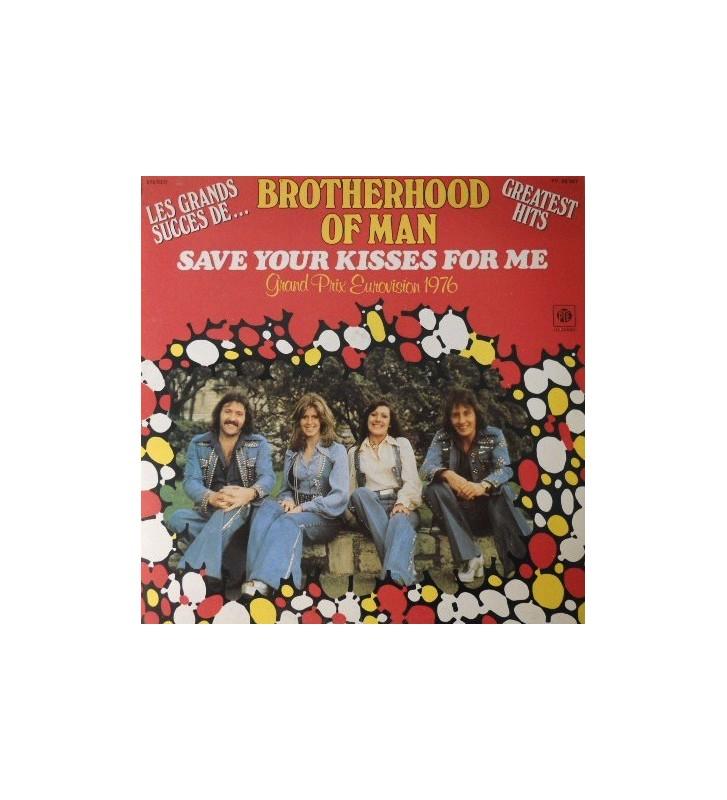 Brotherhood Of Man - Greatest Hits - Les Grands Succes De... Brotherhood Of Man (LP, Comp) mesvinyles.fr