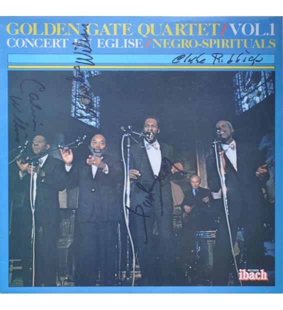The Golden Gate Quartet - Vol.1 - Concert En Eglise / Negro Spirituals - Vinyle Occasion mesvinyles.fr
