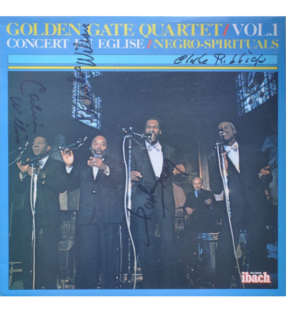 The Golden Gate Quartet - Vol.1 - Concert En Eglise / Negro Spirituals - Vinyle Occasion