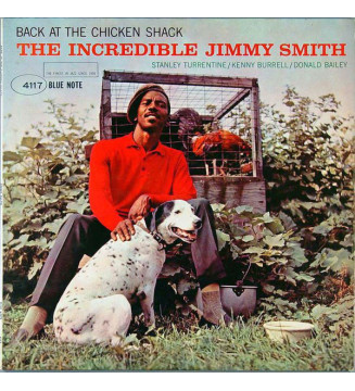 The Incredible Jimmy Smith* - Back At The Chicken Shack (LP, Album, Mono) mesvinyles.fr