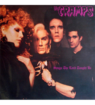 The Cramps - Songs The Lord Taught Us (LP, Album) mesvinyles.fr