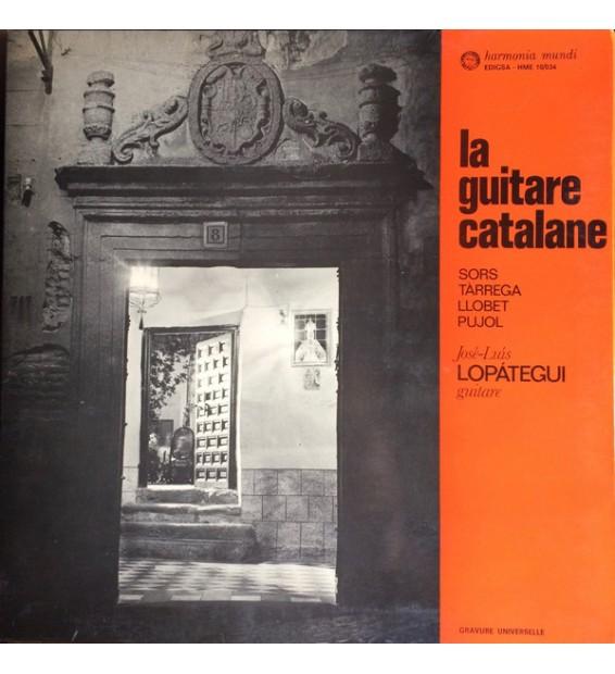 José Luis Lopátegui - La Guitare Catalane (LP, Gat) mesvinyles.fr