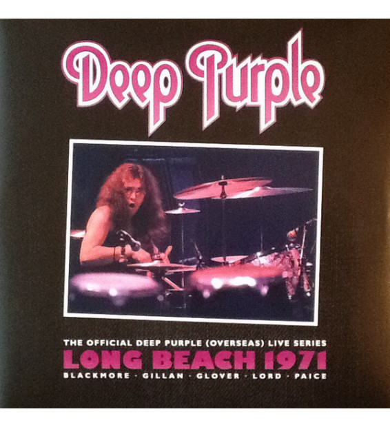 Deep Purple - Live In Long Beach 1971 (2xLP, Album, RM)