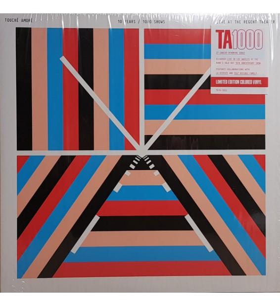 Touché Amoré - 10 Years / 1000 Shows – Live at the Regent Theater (2xLP, Album, Ltd, Red) mesvinyles.fr