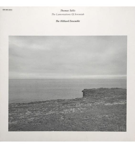 Thomas Tallis - The Hilliard Ensemble - The Lamentations Of Jeremiah (LP, Album) mesvinyles.fr