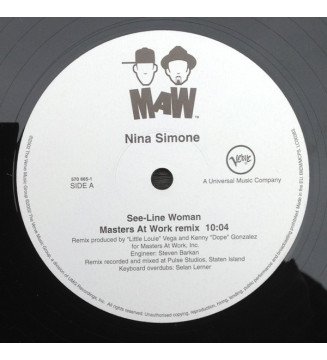 "Nina Simone - See-Line Woman (12"") mesvinyles.fr"