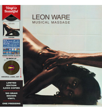 Leon Ware - Musical Massage (LP, Album, Ltd, RE, S/Edition, Bro) mesvinyles.fr