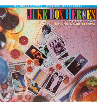 Various - Juke Box Heroes Volume Two (LP, Comp) mesvinyles.fr