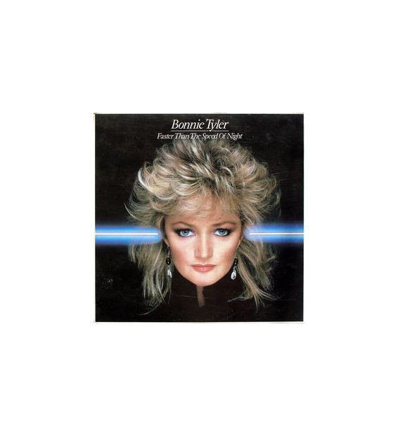 Bonnie Tyler - Faster Than The Speed Of Night - Vinyle Occasion