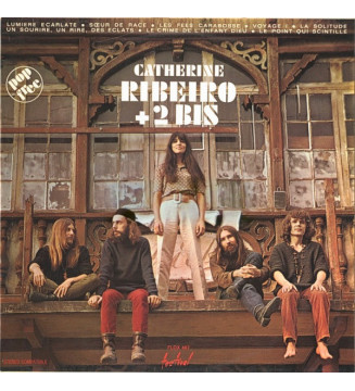 Catherine Ribeiro + 2 Bis* - Catherine Ribeiro + 2 Bis (LP, Album) mesvinyles.fr