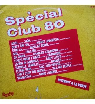 Various - Spécial Club 80 (LP, Comp, Mixed, Promo) mesvinyles.fr