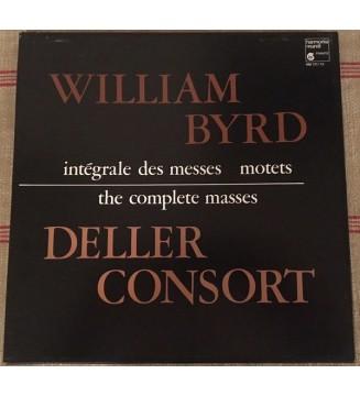 William Byrd, Deller Consort - The Complete Masses (3xLP, Comp + Box) mesvinyles.fr
