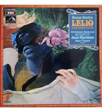 Hector Berlioz, Orchestre National De L'O.R.T.F.*, Jean Martinon, Jean Topart - Lelio Ou Le Retour Á La Vie (LP, Quad, Gat) mesv