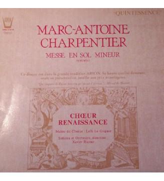 Marc Antoine Charpentier, Choeur Renaissance, Marie Svetlana, Béatrice Douchet*, Françoise Villeneuve, Leonard Pezzino, Pierre-