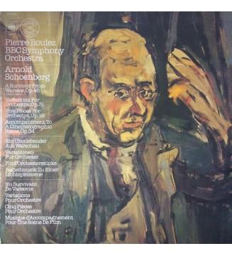 Arnold Schoenberg - Pierre Boulez - BBC Symphony Orchestra - Variations Etc. (LP, Album, gat) mesvinyles.fr