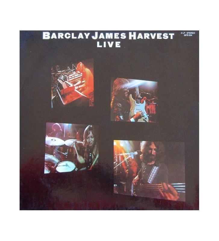 Barclay James Harvest - Live - Vinyle Occasion mesvinyles.fr