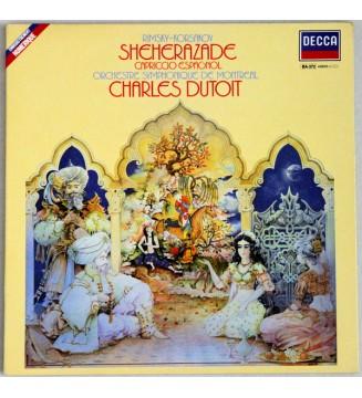 Rimsky-Korsakov* - Charles Dutoit, Orchestre Symphonique De Montreal* - Shéhérazade - Capriccio Espagnol (LP, Gat) mesvinyles.fr