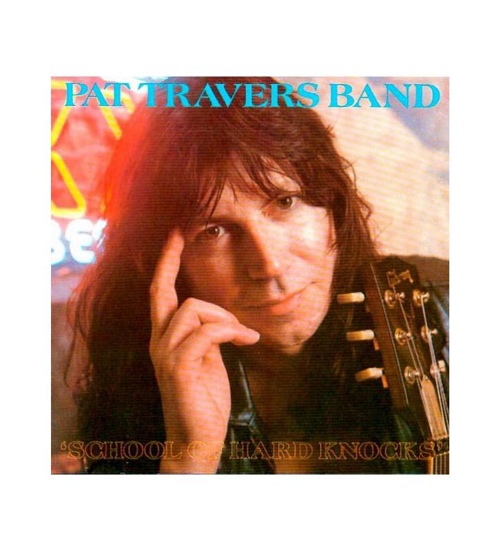 Pat Travers Band - School Of Hard Knocks (LP) mesvinyles.fr