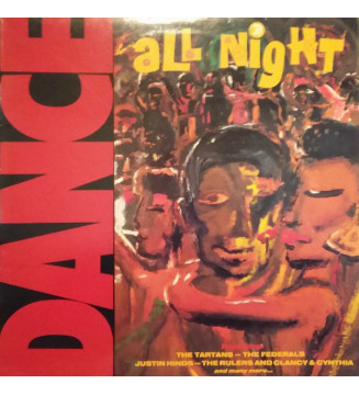 Various - Dance All Night (LP, Comp) mesvinyles.fr