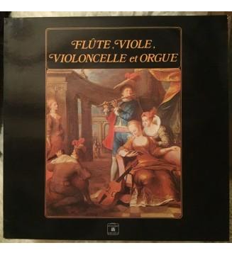 Trio Baroque de Munich* - Flûte, Viole, Violoncelle Et Orgue (LP) mesvinyles.fr
