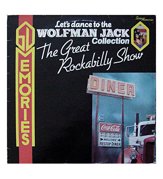 Various - Let's Dance To The Wolfman Jack Collection- The Great Rockabilly Show (LP, Comp) mesvinyles.fr