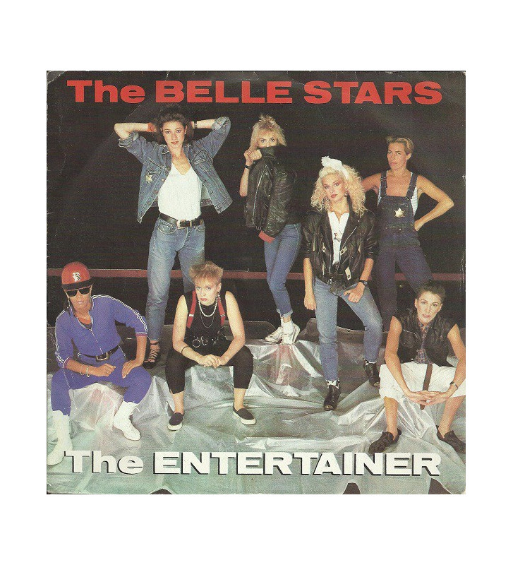 "The Belle Stars - The Entertainer (7"", Single) mesvinyles.fr"