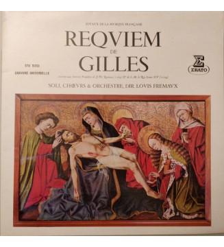 Jean Gilles - Orchestre De Chambre Jean-François Paillard -  Chorale Philippe Caillard - Messe De Requiem (LP, Album, Gat) mesvi