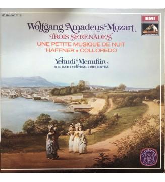 Wolfgang Amadeus Mozart, Yehudi Menuhin, The Bath Festival Orchestra* - Trois Sérénaes: Une Petite Musique De Nuit / Haffner /