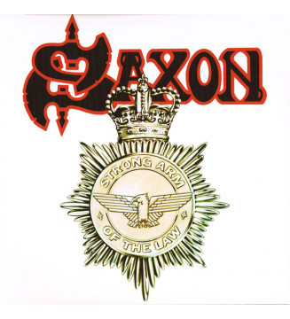 Saxon - Strong Arm Of The Law (LP, Album, Ltd, RE, Whi) mesvinyles.fr