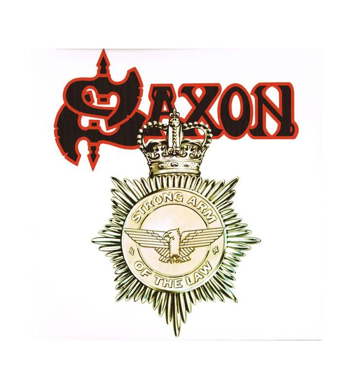 Saxon - Strong Arm Of The Law (LP, Album, Ltd, RE, Whi) mesvinyles.fr