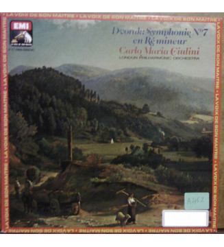 Carlo Maria Giulini - Dvorak: Symphonie N°7 En Ré Mineur (LP, Quad, GAT) mesvinyles.fr