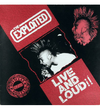 The Exploited - Live And Loud!! (LP, Album) mesvinyles.fr