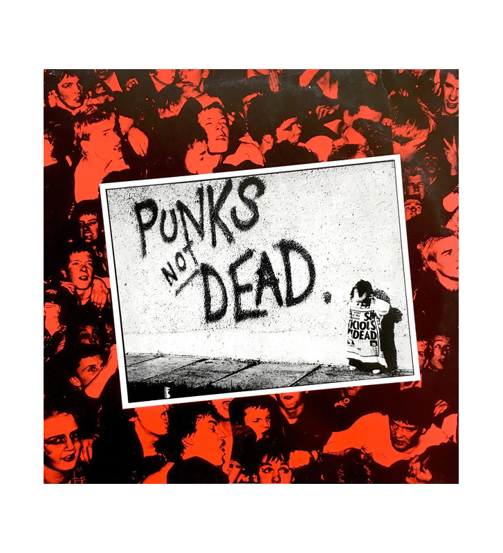The Exploited - Punks Not Dead (LP, Album) mesvinyles.fr
