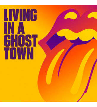 """The Rolling Stones - Living In A Ghost Town (10"""", S/Sided, Single, Etch) mesvinyles.fr"""