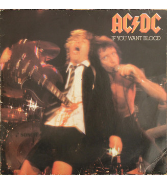 AC/DC - If You Want Blood You've Got It (LP, Album) mesvinyles.fr