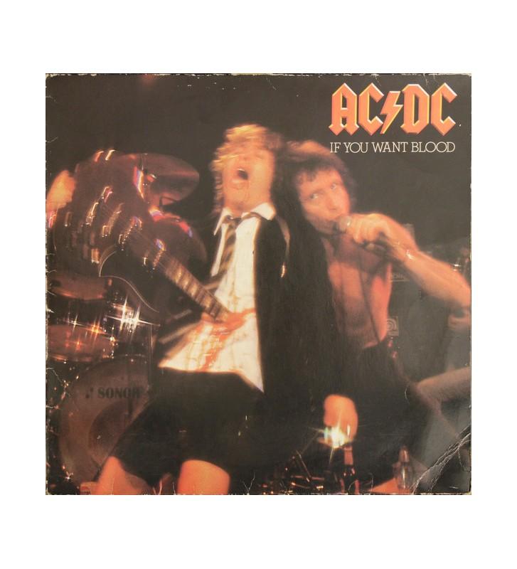 AC/DC - If You Want Blood You've Got It (LP, Album) mesvinyles.fr