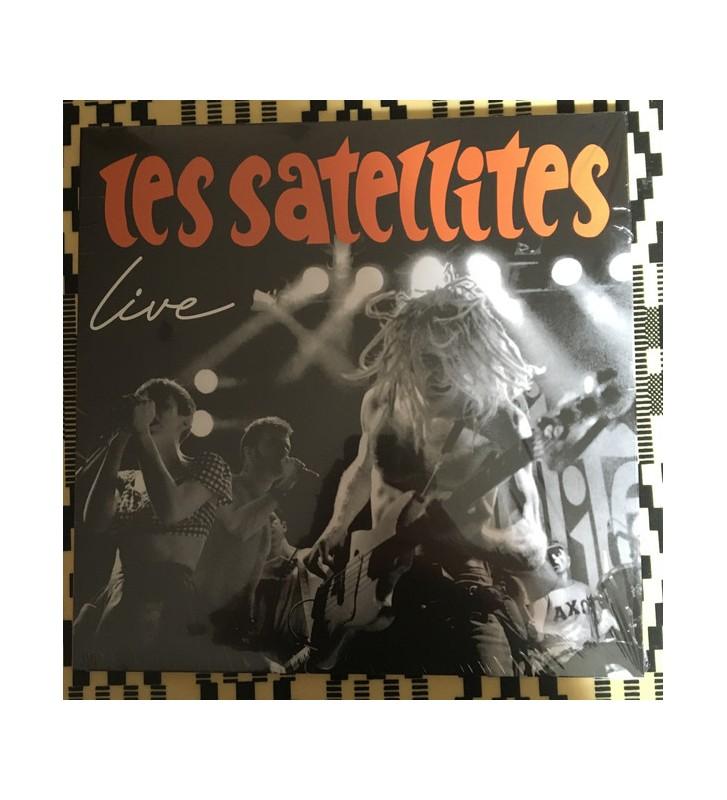 Les Satellites - Live  (LP, MiniAlbum, Ltd) Disquaire Day (RSD) mesvinyles.fr