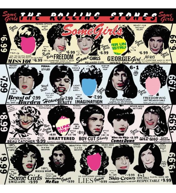 The Rolling Stones - Some Girls (LP, Album, RE, RM, Hal) mesvinyles.fr