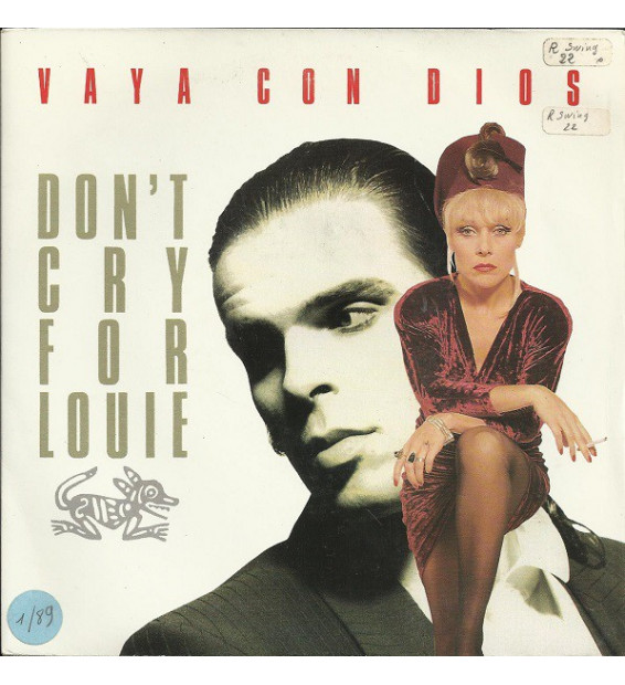 "Vaya Con Dios - Don't Cry For Louie (7"", Single) mesvinyles.fr"