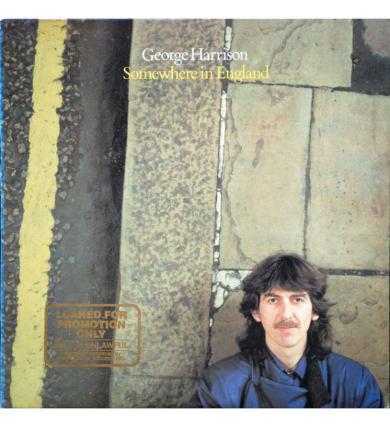 George Harrison - Somewhere In England (LP, Album, All)