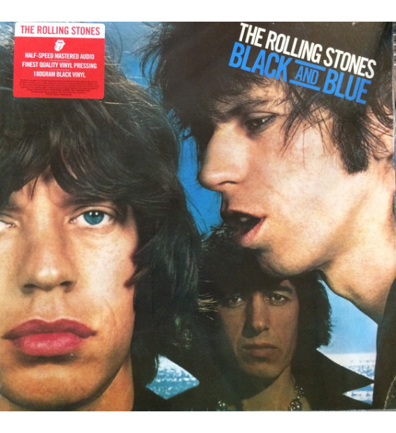 The Rolling Stones - Black And Blue (LP, RE, RM, 180) mesvinyles.fr