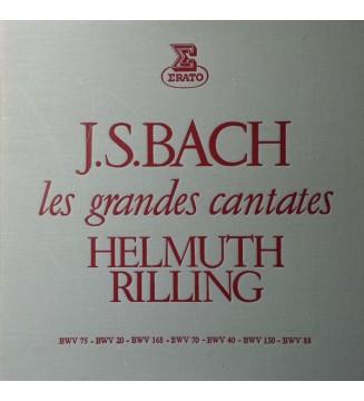 Johann Sebastian Bach, Helmuth Rilling - Les Grandes Cantates - Volume 1 (4xLP, Box) mesvinyles.fr