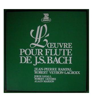 Rampal* - Bach*, Robert Veyron-Lacroix, Jordi Savall, Alain Marion, Robert Gendre - L'Oeuvre Pour Flûte De J.S. Bach (3xLP + Bo