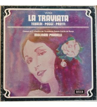 Verdi* - Tebaldi*, Poggi*, Protti*, Choeurs*  Et  Orchestra De L' Academie Sainte-Cecile De Rome*, Molinari Pradelli* - La Trav